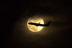 MayerK-Aircraft_20passing_20Super_20Moon