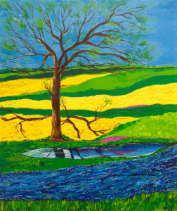 3_Tree with yellow fields