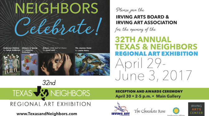 2017 Texas & Neighbors Reception & Awards April 30th