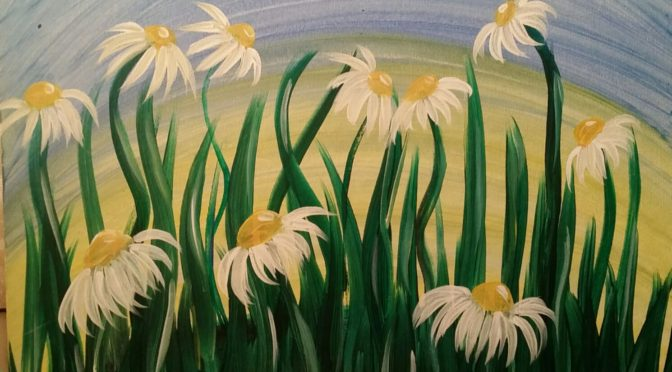 Paint Club with VET on Sept. 9: Daisies ($25)