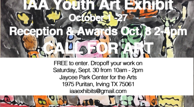 Youth Art Exhibit call for art