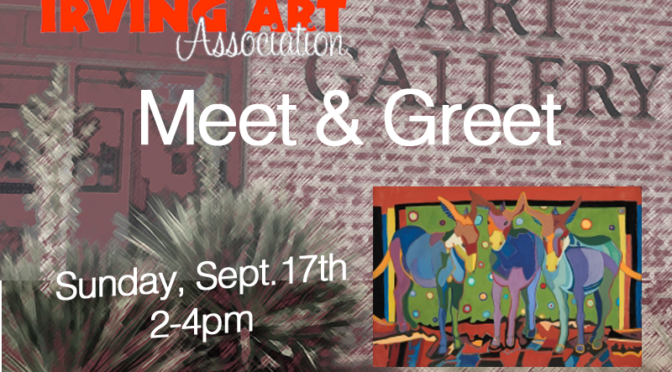 Meet & Greet on Sept. 17