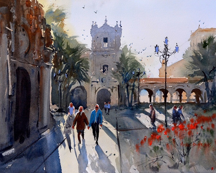 Michael Holter Watercolor Workshop: Bringing Life to Your Landscape Feb. 20 – 22, 2018