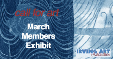 Call for Artwork – IAA Large Gallery – Feb 25-March 30