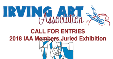 2018 63rd Annual IAA Members Juried Exhibit call for entries