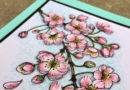April 21st Copic Class on Cherry Blossoms with Laura Griffin