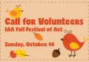 IAA Fall Festival of Art – call for volunteers and art donations
