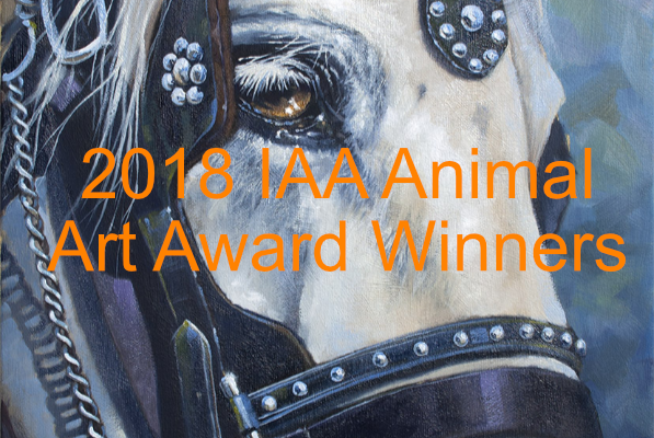 Award Winners of the 2018 IAA Animal Art Awards Exhibit