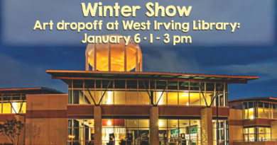 Winter Show at the Library – call for art