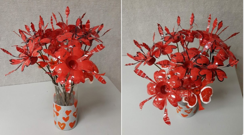 Eco Flowers for Valentines – free open art night Jan. 25