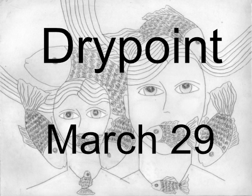 Drypoint prints workshop – simple technique, great results!