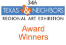 Award winners of the 2019 Texas & Neighbors Regional Art Exhibition