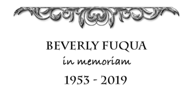 In Memoriam: Beverly Fuqua