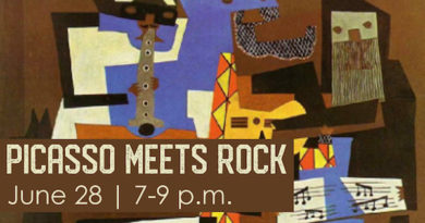 Music and Art Meetup: Picasso meets Rock