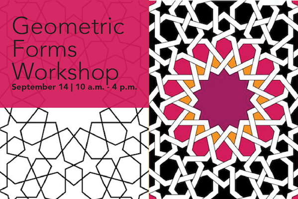 Geometric Forms Workshop Sept. 14 with Pouran Lashini