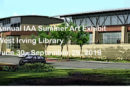Annual IAA Summer Exhibit at the West Irving Library