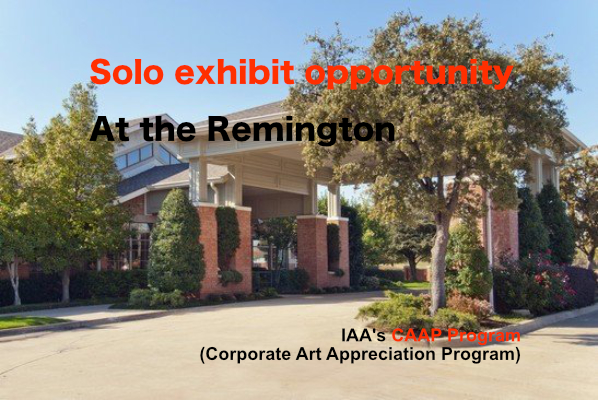 Solo Show Opportunity at the Remington