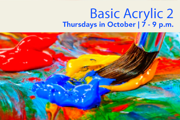Acrylic 2: October Classes with Zakehia