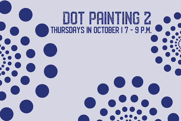 Dot Painting 2: October Classes with Susan Murray