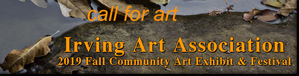 Fall Art Exhibit – Online Entry Deadline Sept. 25