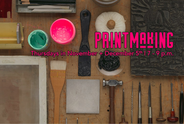 Printmaking 2 November Classes with Junanne Peck