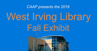 Fall Exhibit at the West Irving Library