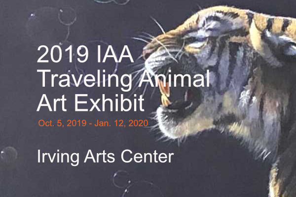 2019 Animal Art Traveling Exhibit at the Irving Arts Center
