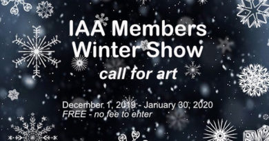 Call for Art – IAA MEMBERS WINTER SHOW (Dec-Jan)
