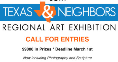 2020 Texas & Neighbors call for entries – deadline March 1