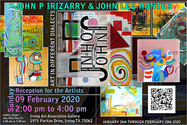 John P. Irizarry & John Lee Hunter Exhibit