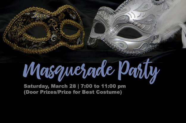 IAA Masquerade Ball on March 28