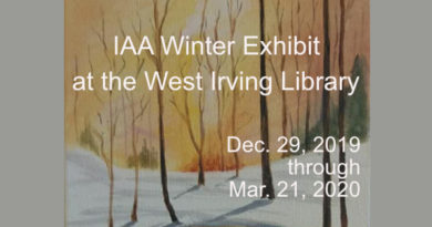 IAA Winter Exhibit at the West Irving Library