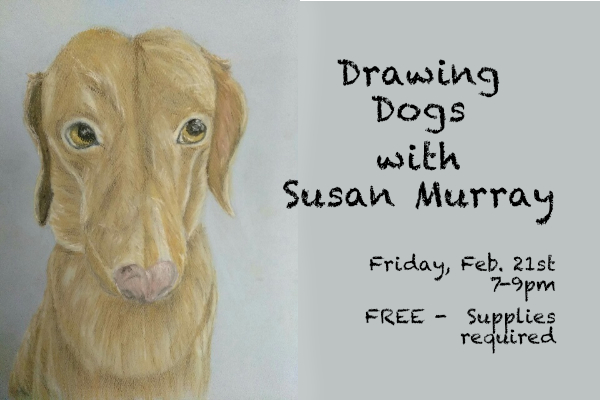 Drawing Dogs with Susan Murray